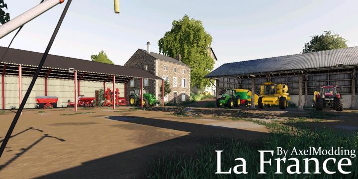 FS19 - La France Map V1