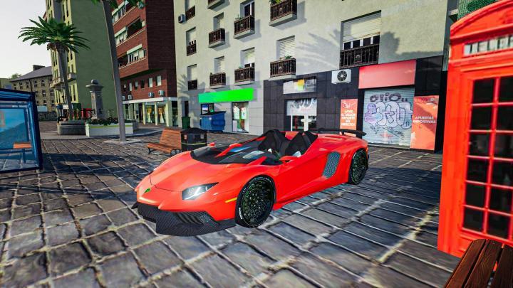 FS19 - Lamborghini Aventador J V1.1