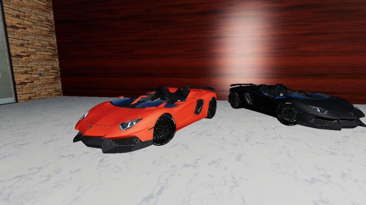 FS19 - Lamborghini Aventador V1