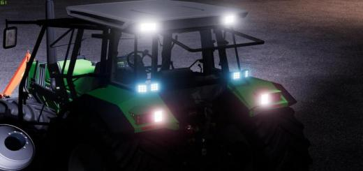 Photo of FS19 – Led Head Light (Prefab) V1