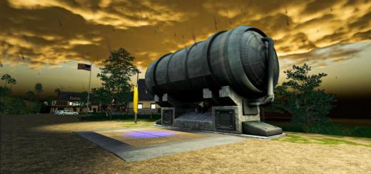Photo of FS19 – Liquid Silo Tank 250K V1.1.1