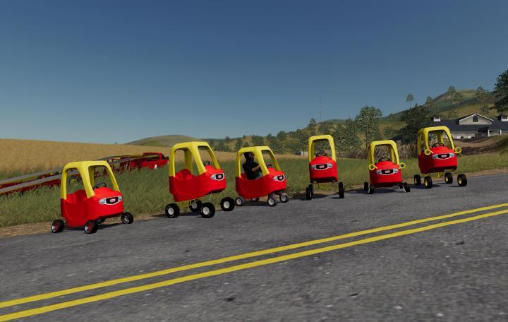 FS19 - Little Tykes Kid Toy Car V1