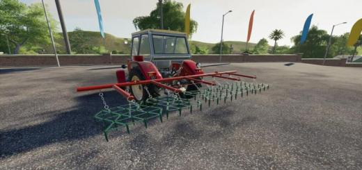 Photo of FS19 – Lizard Harrow 5 V1