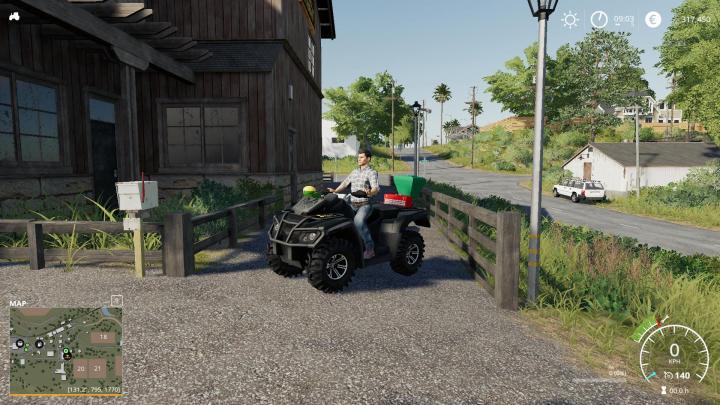 FS19 - Lizard Motorbike V1