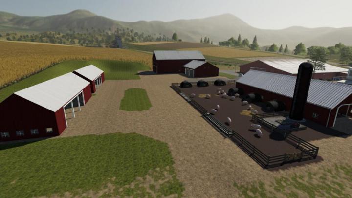 FS19 - Lone Oak Pig Farm Pack V1