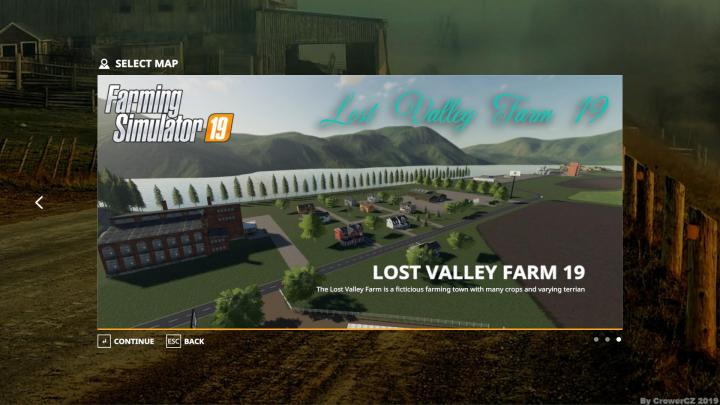 FS19 - Lost Valley Farm 19 Map V1