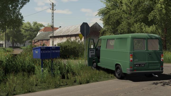 FS19 - Mailboxes (Prefab) V1