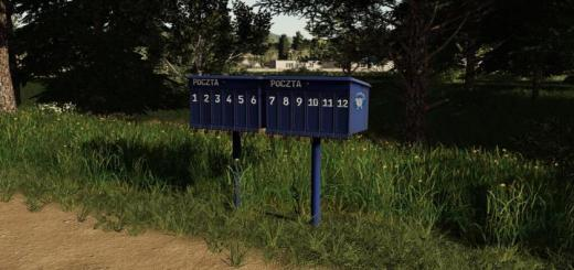 Photo of FS19 – Mailboxes V1