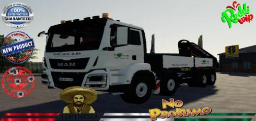 Photo of FS19 – Man 8X4 Hiab -Truck V2