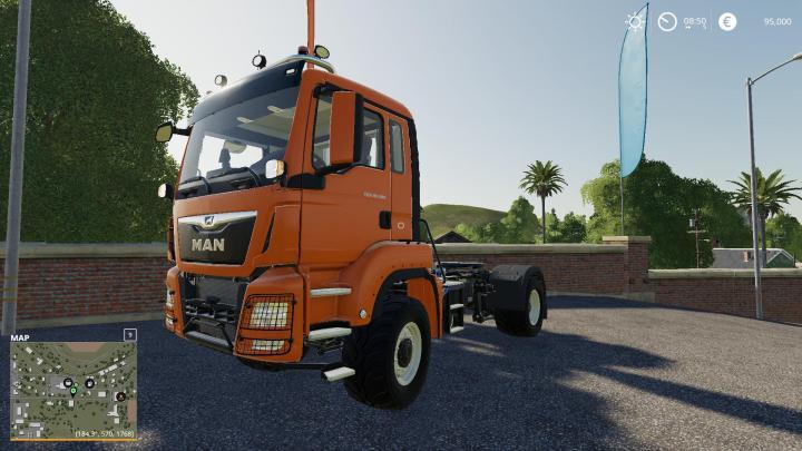 FS19 - Man Tgs 18500 Truck V1