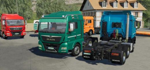 Photo of FS19 – Man Tgx Semi-Truck Pack V1.0.0.1