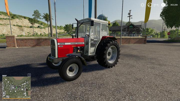 FS19 - Massey Ferguson 365 V1