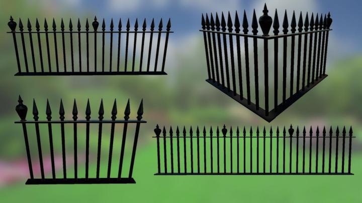 FS19 - Metal Fences Pack V1