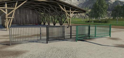 Photo of FS19 – Metal Gate Pack V1