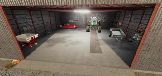 Photo of FS19 – Metal Shed V1.1