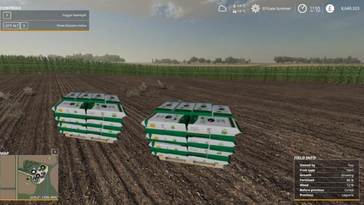 FS19 - Millennial Seed Pallets V1