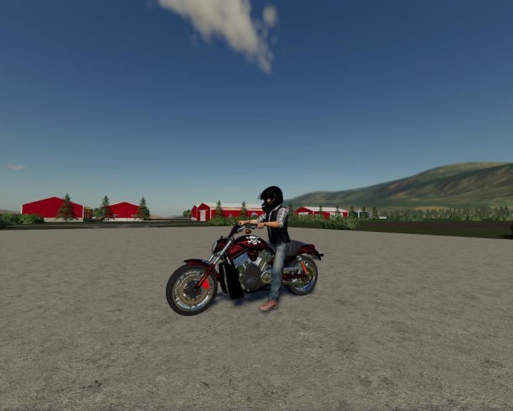 FS19 - Motorcycle V1