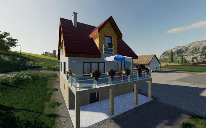 FS19 - New Farmhouse V1