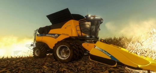 Photo of FS19 – New Holland Cr10.90 Us V2
