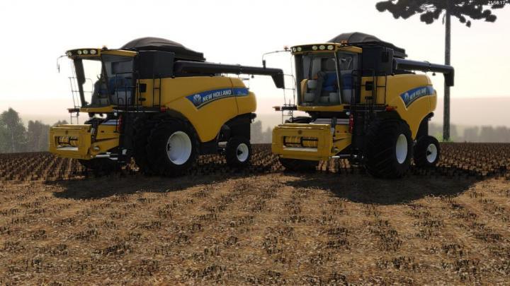 FS19 - New Holland Cr5080 V1