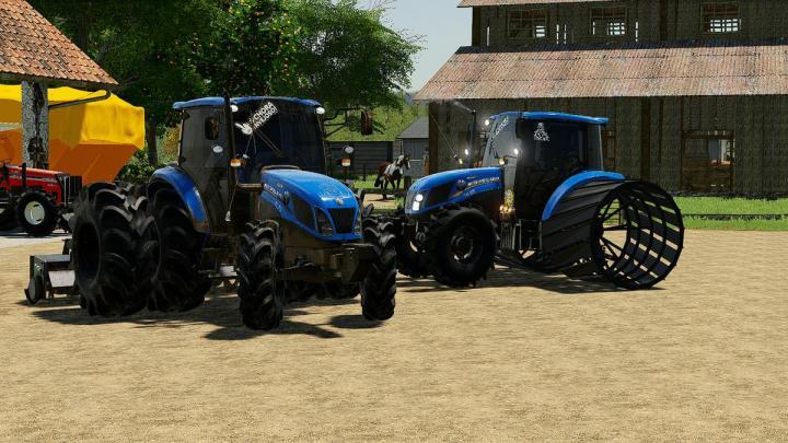 FS19 - New Holland Rice V1