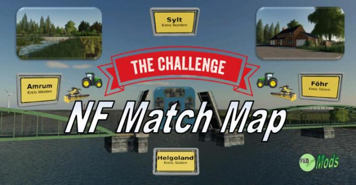 FS19 - Nf Match Map 4X Map V3.1