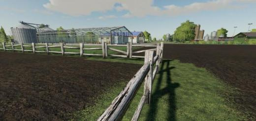 Photo of FS19 – Old Fence With Gate V1.0.0.1