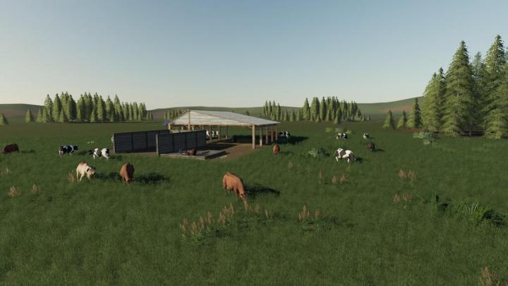 FS19 - Open Cow Pasture V1.1.1.1