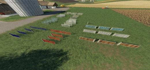 Photo of FS19 – Placeable Fence System V1
