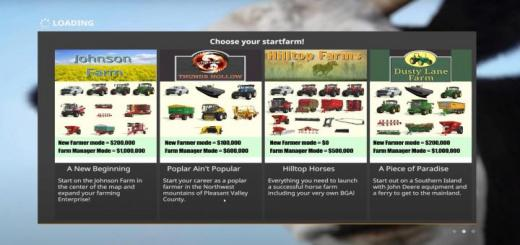 Photo of FS19 – Pleasant Valley County 16X Map V1.1.2