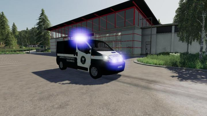 FS19 - Pojazd Inspekcji Transportu V1.1