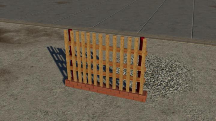 FS19 - Polish Fence V1