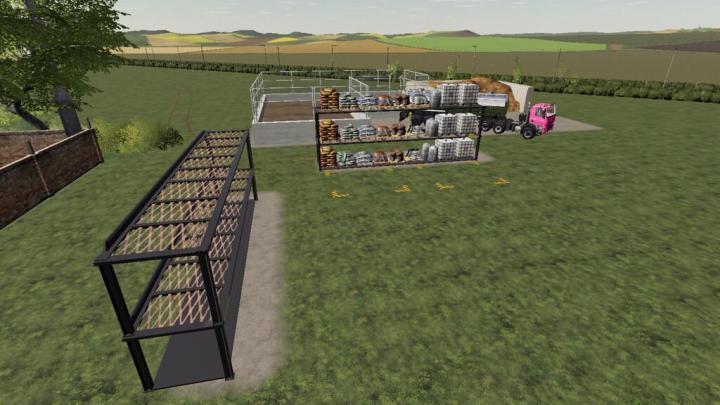 FS19 - Racking Storage V1
