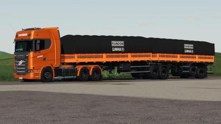 FS19 - Randon Bitrem Short Bulk Carrier Randon Line R V1