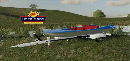 Photo of FS19 – Retro Boat – Liquid Transport – Floats Ok Model Ii V1