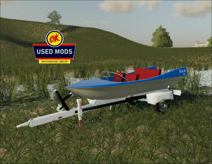 FS19 - Retro Boat - Liquid Transport - Floats Ok Model Ii V1