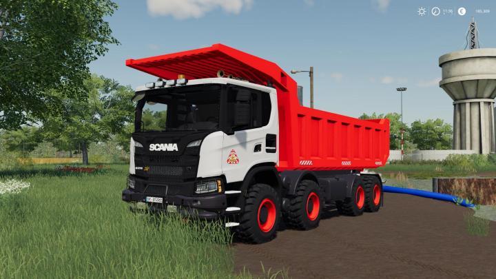 FS19 - Scania Xt 8X8 Mining Truck V1.1