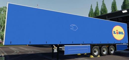 Photo of FS19 – Schmitz Cargobull Lidl V1
