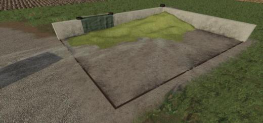 Photo of FS19 – Small Bunker Silo Set V1.2