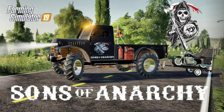 FS19 - Sons Of Anarchy Truck V2