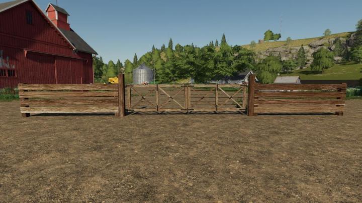 FS19 - South American Fence Pack V1