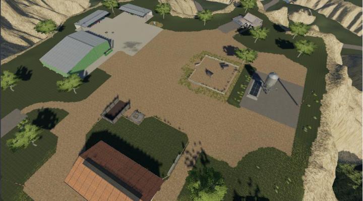FS19 - Sprucewood Farmstead Map V1