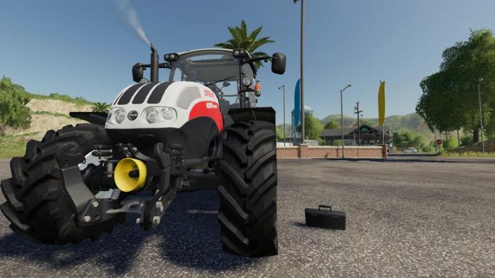 FS19 - Steyr Multi Tractor V1.8