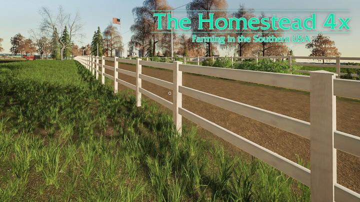 FS19 - The Homestead Map V3