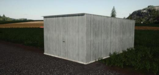 Photo of FS19 – Tin Garage V1