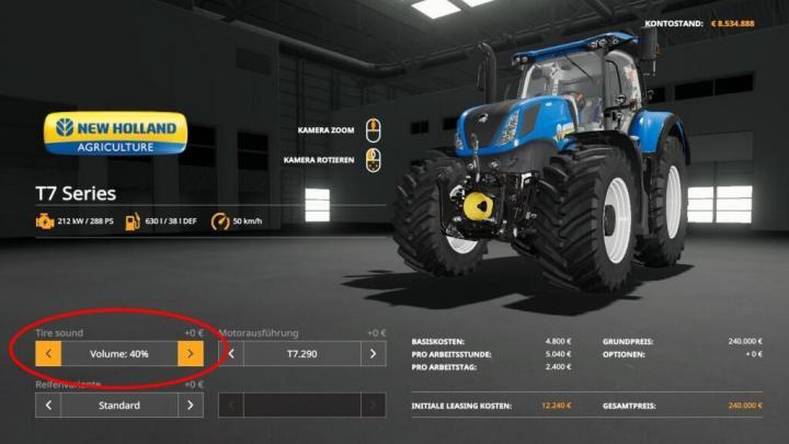 FS19 - Tire Sound V1