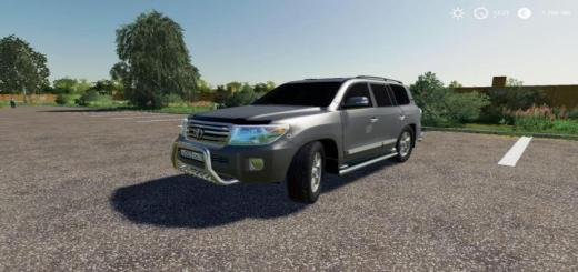 Photo of FS19 – Toyota Land Cruiser 200 2013 V8 V3