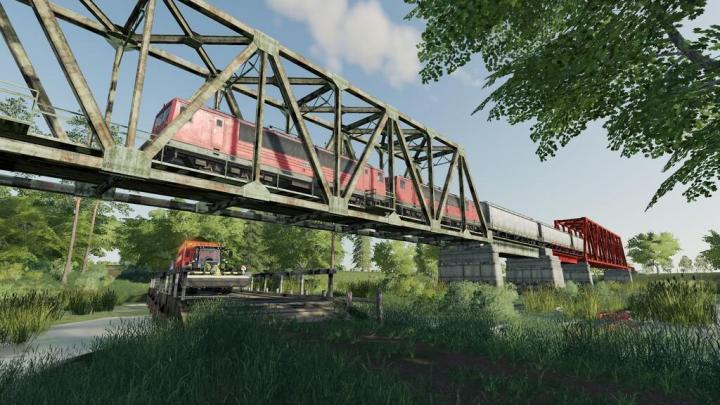 FS19 - Train Bridges (Prefab) V1
