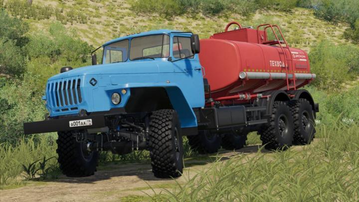 FS19 - Ural 4320-60 Acv/Atz V1