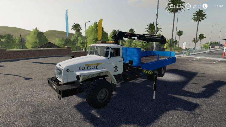FS19 - Ural With Manipulator - Alteration V0.1